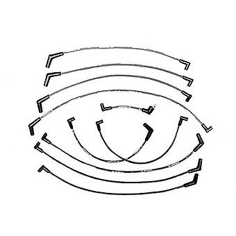 Ford Racing M12259R460 Spark Plug Wire Set, 9MM, Red
