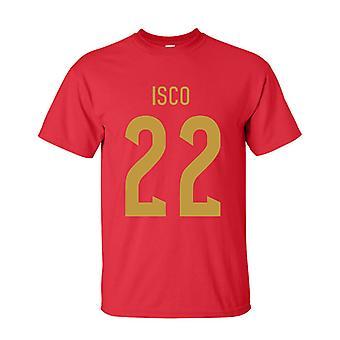 ISCO Spania helten T-shirt (rød)