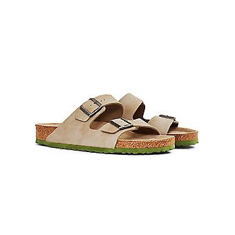 Birkenstock Two Tone Arizona Sandal Tan