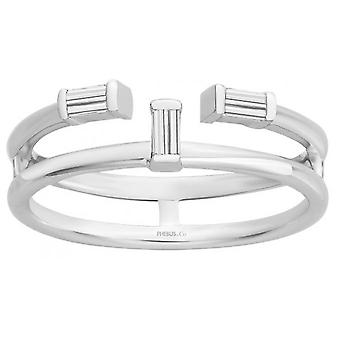 Ring PHOEBUS CREATIONS 60100010 - ring Athens 3 XS Version Sublime silver woman