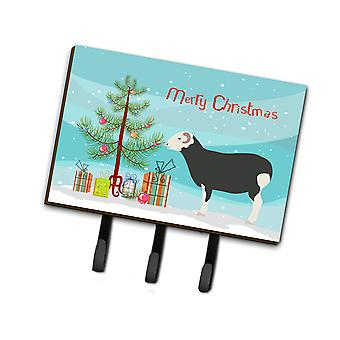 Carolines Treasures  BB9337TH68 Herwick Sheep Christmas Leash or Key Holder