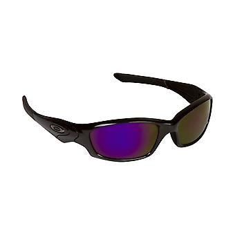 Best SEEK Replacement Lenses - Oakley STRAIGHT JACKET Black Purple Mirror