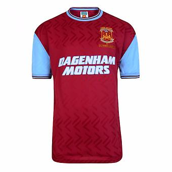 West Ham United FC Herre officielle 1994 nr 6 Replica trøje