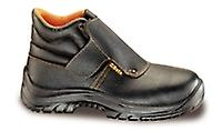 7245B 41 Beta Size 7/41 Lace-up Full-grain Leather Ankle Shoe Waterproof