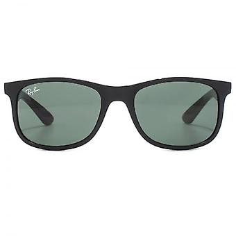 Ray-Ban Junior Wayfarer Sunglasses In Matte Black