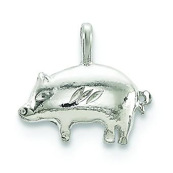 Sterling Silver gris Charm -.8 gram