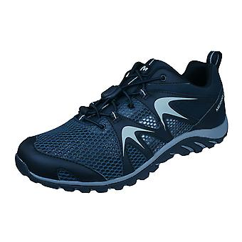 Merrell Rapidbow Shield Stretch Mens Hiking / Walking Trainers / Shoes - Black