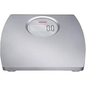 Digital bathroom scales Soehnle Gala XL Weight range=150 kg Silv