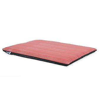 Red Stripe coussin plat - 61 x 46cm