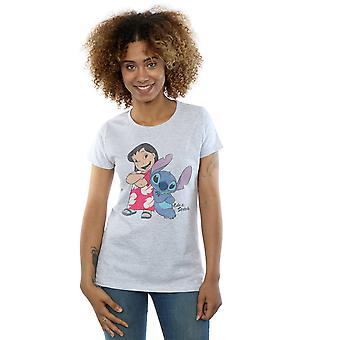 Disney женщин классические Lilo & футболка строчки