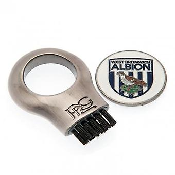 West Bromwich Albion Gruve Brush & Marker