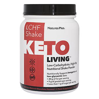 Natures Plus KetoLiving LCHF Chocolate Shake, 675 Grams