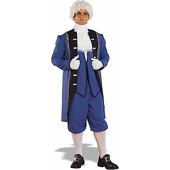 Colonial American George Washington President French Men Costume STD