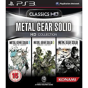 Metal Gear Solid HD - samling (PS3)