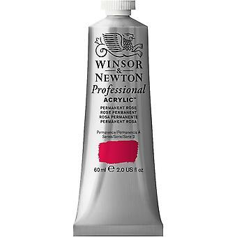 Winsor & Newton Professional Acrylic 60ml - 502 Permanent Rose (S3)