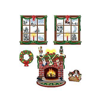 Decoración de interiores Navidad apoyos 15