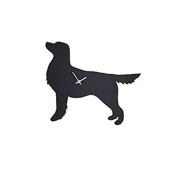 The Labrador Company Waggy Tail Clock - Golden Retriever