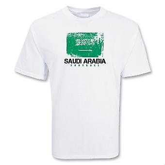 Saudi-Arabia fotball t-skjorte