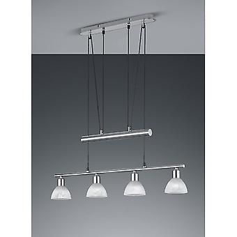 Трио, освещение Levisto современные никель Мэтт металл кулон