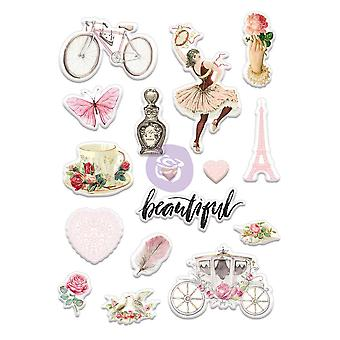 Love Story Puffy Stickers 5
