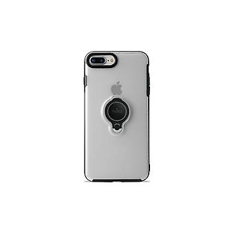Puro iPhone 8/7 Plus, Magnet Ring Cover, transparent