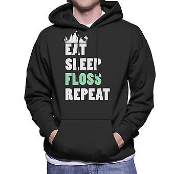 Essen Sie Schlaf Zahnseide wiederholen Fortnite Herren Sweatshirt mit Kapuze