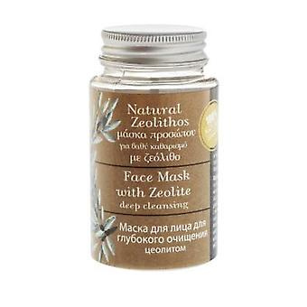 Natural Face Mask with Zeolite for deep cleansing 70ml.