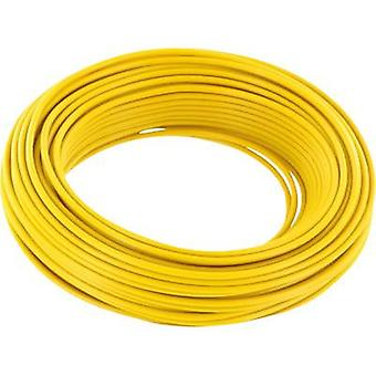 BELI-BECO D 105/10 Jumper wire 1 x 0.20 mm² Yellow 10 m