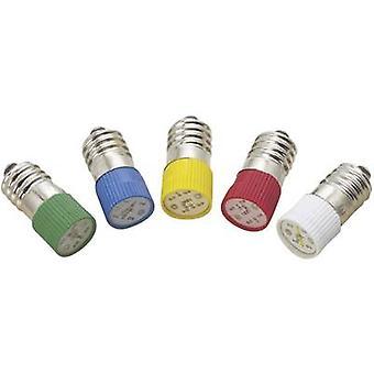 Barthelme LED bulb E10 Green 24 Vdc, 24 V AC 2.3 lm 7011 3144