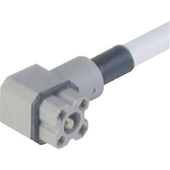 Hirschmann 931 805-602 G 4 KW 1 F 2M Connector For Control Voltage Of Grey Number of pins:4