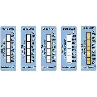 Temperature test strip testo testoterm 204 up to 260 °C