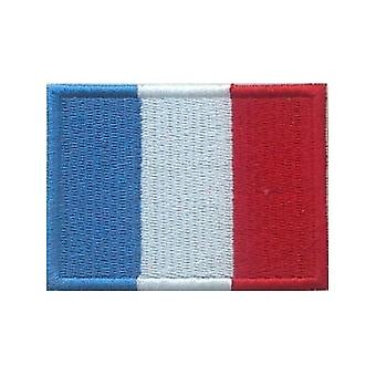 France Flag Iron On/Sew On Cloth Patch