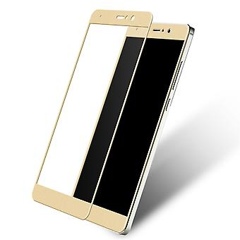 Xiaomi MI 3D armoured glass foil display 9 H protective film covers case gold