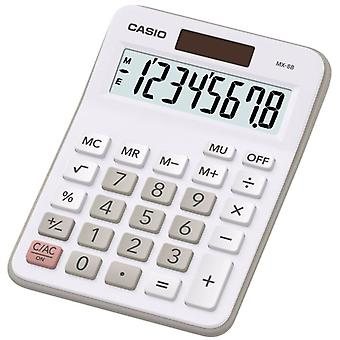 Casio MX8 Desktop Calculator 8 Digit Display