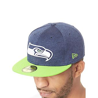 New Era Official Team Colour NFL Sideline 59Fifty Home Seattle Seahawks Fitted C