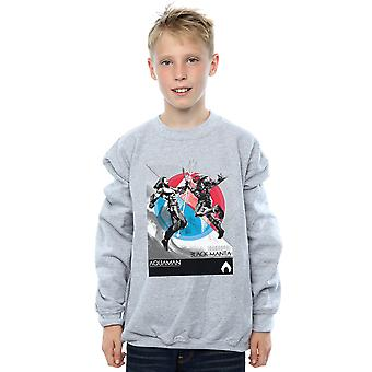 DC Comics jungen Aquaman Vs Black Manta Sweatshirt