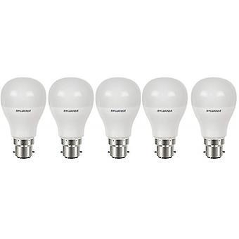 5 x Sylvania ToLEDo GLS B22 5.5W Homelight LED 470lm [Energy Class A+]