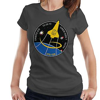 NASA STS 120 Shuttle Mission Imagery Patch Women's T-Shirt