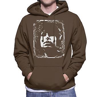 TV Times Jim Morrison Retro Men's Hooded Sweatshirt
