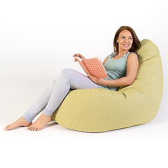 Icon® Serenity Lounger - Aloe Green, Indoor Outdoor Recliner Bean Bag Chair