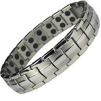 MPS® EUROPE Classic Titanium Magnetic Bracelet + FREE Links Removal Tool