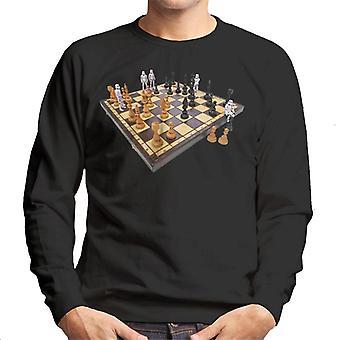 Original Stormtrooper Chess Board Mäns tröja