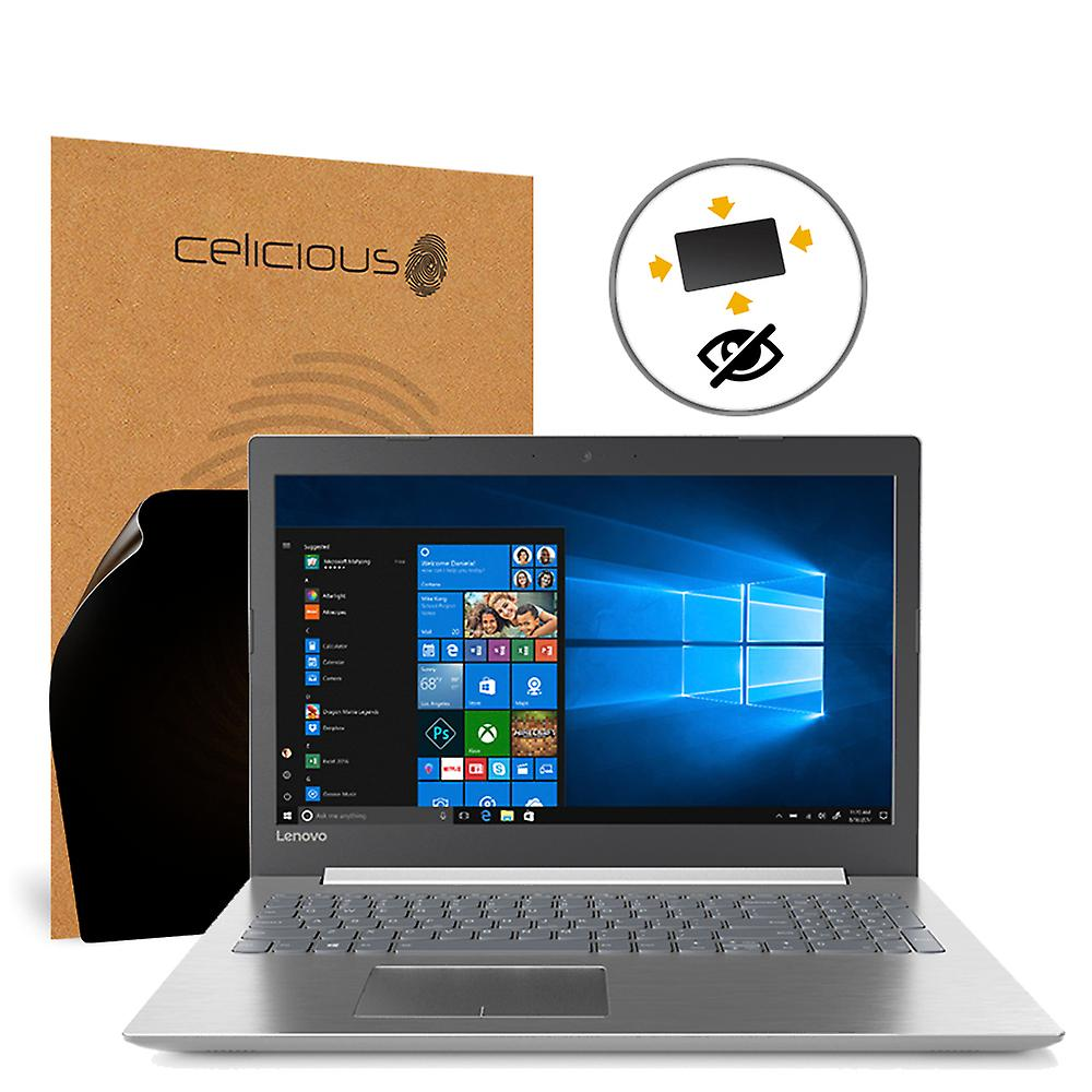 Celicious Privacy Plus 4-Way Anti-Spy Filter Screen Prougeector Film Compatible with Lenovo IdeaPad 320S (15)