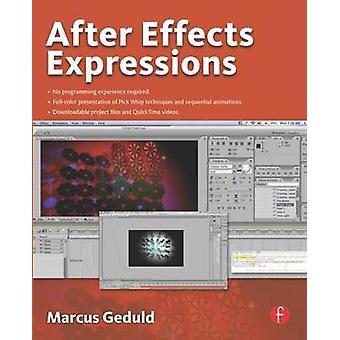 Após efeitos expressões por Marcus Geduld - livro 9780240809366