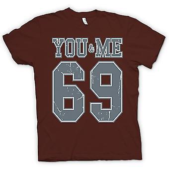 تي شيرت رجالي-لك ولي 69-كلية لكرة القدم-مضحك