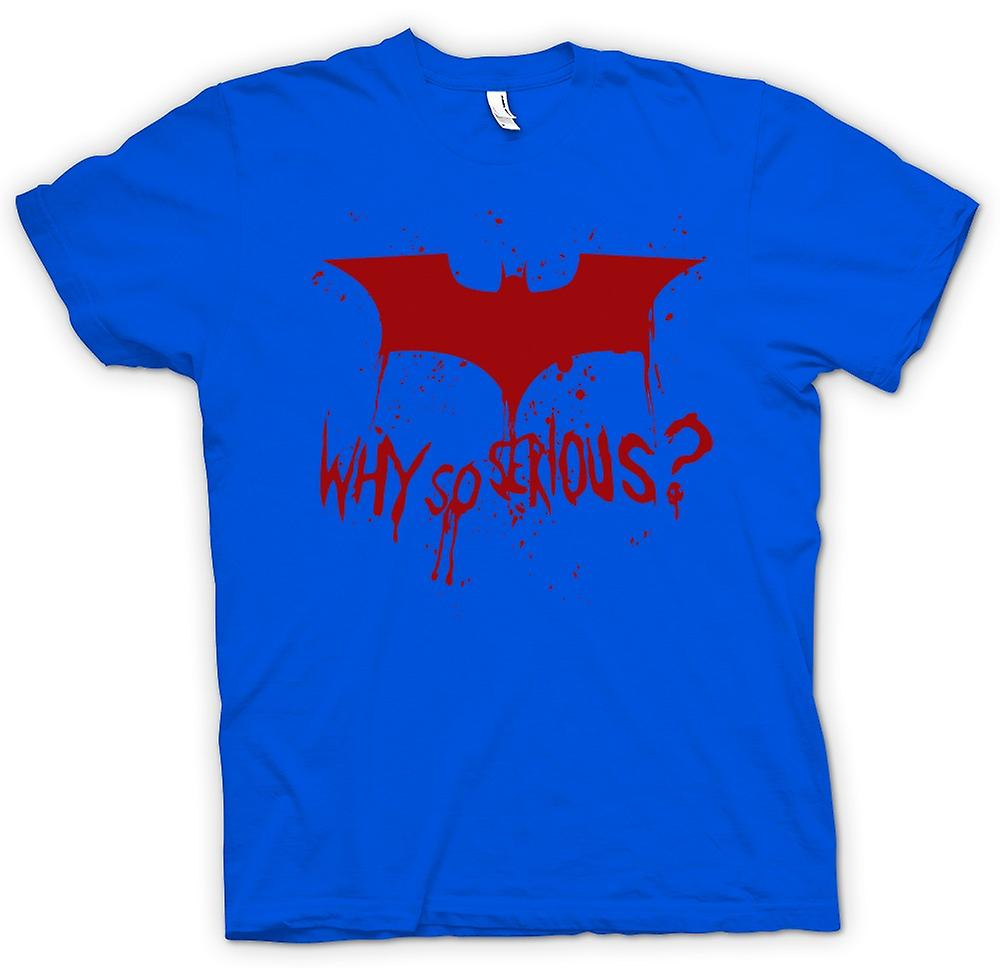 Hommes T-shirt - Batman Logo - Why So Serious