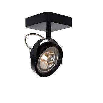 Black Metal lucide Tala LED moderne carré plafonnier Spot