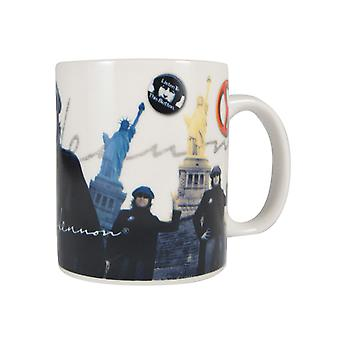 John Lennon Liberty MugMulticoloured