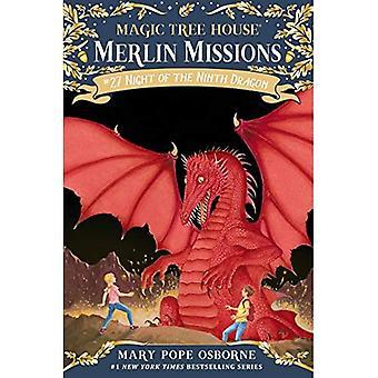 Magic Tree House #55: Natten av nionde draken (Stepping Stone böcker) (en Stepping Stone bok)