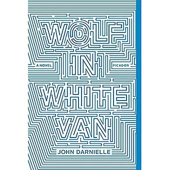 Wolf in weißen Lieferwagen